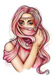 Hair Burqa by AlfredoV90