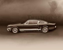 Customized Ford Mustang '65 by tommyes