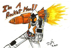 Blast OFF Fourze by ZIX89