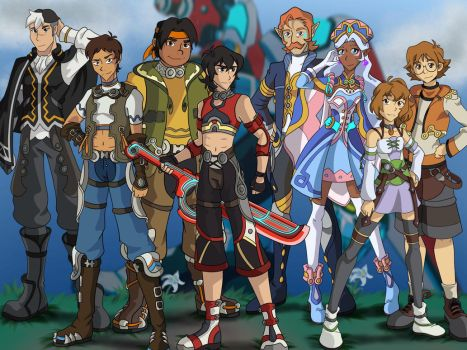 Voltron: Xenoblade Chronicles Cast by CessieRose25