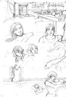 Comic Pencils-2 by alysia