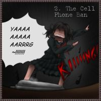 2. The Cell Phone Ban by BlackSylph
