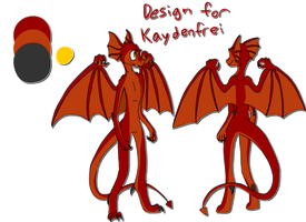 Design for Kaydenfrei by TobyTheMutt