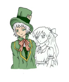 alice and hatter 3 by darkdoodler1
