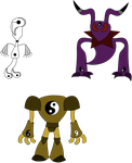 Adopts: Ying, Yang, and Clang by BlueHecate