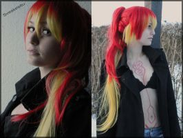 Ao No Exorcist: Shura Kirigakure by Lavenderbed