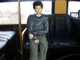 guy on bus by silverwing24