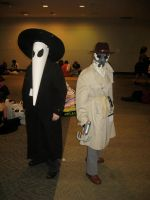 Black Spy and Rorschach by AngstyGuy