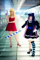 Panty N Stocking with Brief 08 by shiroang