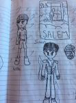 Original Salem Character Designs by ChaosCreator42