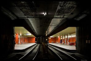 The X in the Dark by TramwayPhotography