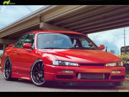 Nissan Silvia M-Boy edition by daveezdesign