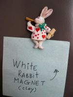White rabbit by Redilion
