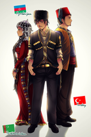 APH: Turkic family by Kay-I