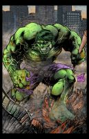 Hulk 2013 colors by hanzozuken