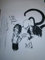 Yes... (Jeff the killer and slenderman) by YohansDark