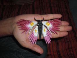 Origami 3D Butterfly by PattReah