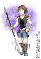 Thea Yaeris Azelas (Final Fantasy XII OC) by FallenRichardBrook