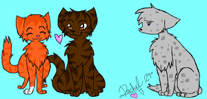 ++Happy :not: V-Day, Ashfur++ by BlossomNeko