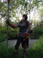 Hawke - Taking in the beauty of the wilds... by MercerHitsuji