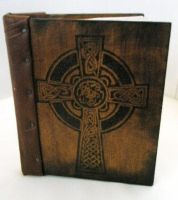 Celtic cross bookcover by Ofibel