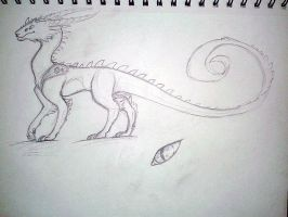 Hybrid Sketch 3/3 by TemporalEchoes