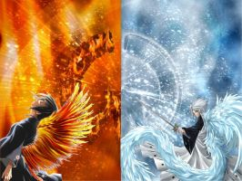 Fire and Ice by HeartofSerenity
