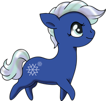 Commish: Snowdrop - Chibi by Squeemishness