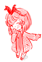 Chibi in red by beloved-remi