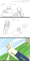 Skye's Present: The Reaction by Shewen