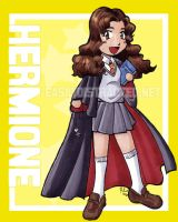 Hermione chibi by jurijuri