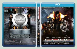 G.I. Joe The Rise of Cobra custom Blu-ray cover by Rookerdesigns