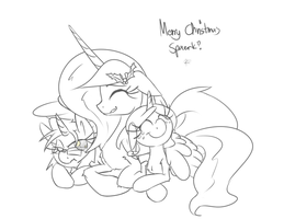 Merry Christmas Spaerk by leadhooves