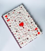 Deco notebook - Ace of Hearts by FrozenNote