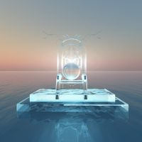 Throne of light over water by truelight9