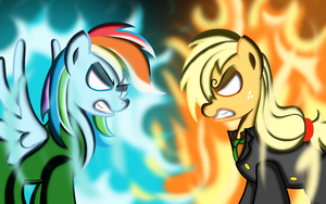 Roronoa Dash and Sanjack after 2 years by Ziemniax