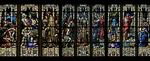 Life of Jeremiah- Wallart Stained glass panelling by jhorsfield30