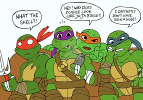 TMNT: 2012 reaction to Bay's idea by xero87