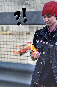 Cosplay - inFamous Second Son 'THOSE flames' by Emme-Gray