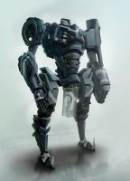 Knight Mech 2 by cakeypigdog