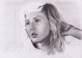 Ellie Goulding WIP by AfterSchoolArts