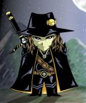 Chibi Vampire Hunter D by godaiking