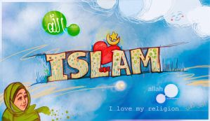 I love my religion by taoufiq