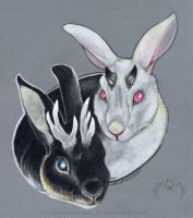 Two Jackalopes by vladimirsangel