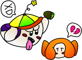Boomy Y Waddle Dee by cocakirby