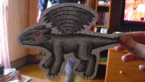 HTTYD - Toothless Paper Child by Kisviki96