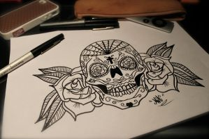 Sugar Skull by SpleenIdeal