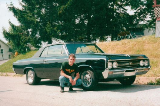 My Uncle and his car. by sabresteen
