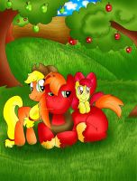 Apple Siblings by TheRealPennyLane