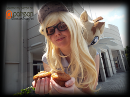 (MLP) Double the Muffin! Derpy Cosplay by KrazyKari